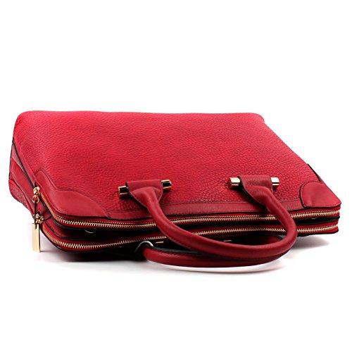 Womens Work Shoulder Bag Office College Bag Laptop Briefcase (MH481-1  Beige)  Amazon.co.uk  Shoes   Bags d7d0100a7f