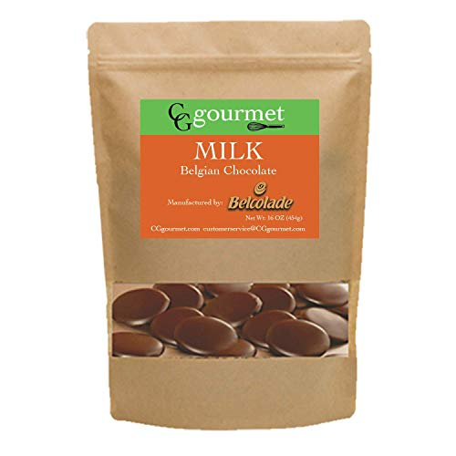Belcolade Belgian Baking Milk Chocolate Discs - 16 OZ (1LB) ()