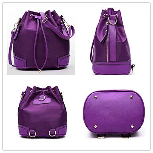 colore taglia in redpieces unica donna per tracolla a pezzi viola similpelle tre Eeayyygch Borsa z6q7TxWwwa
