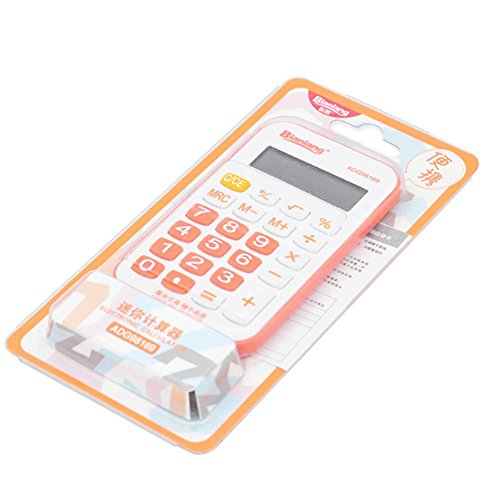 Mini Calculator with Simple Design Lovely and Portable Calcu
