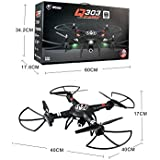 Q303 - B 2.4GHz 4CH 6 Axis Gyro RC Quadcopter RTF Real-time transmission can be achieved through the WiFi connection of quadcopter and mobile phone