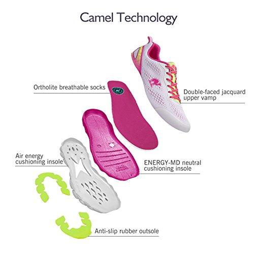 de Zapatillas Sintético de Rosa Mujer Running Camel para zB5wqB
