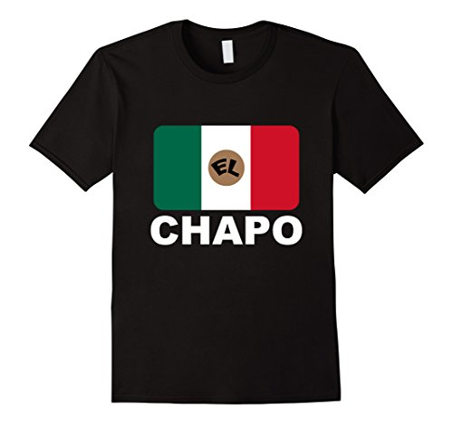 Men's El Chapo T-shirt 2XL Black