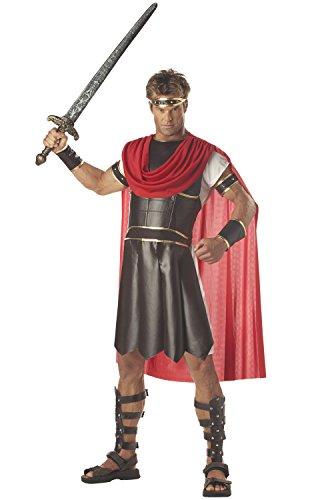 California Costumes Men's Adult-Hercules, Brown/Red, M (40-42) Costume -