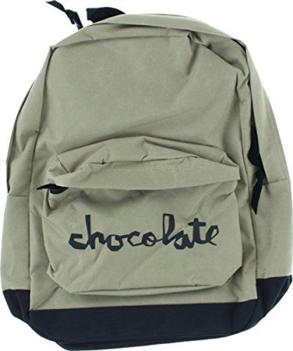 Chocolate Chunk Khaki / Black Skate Backpack