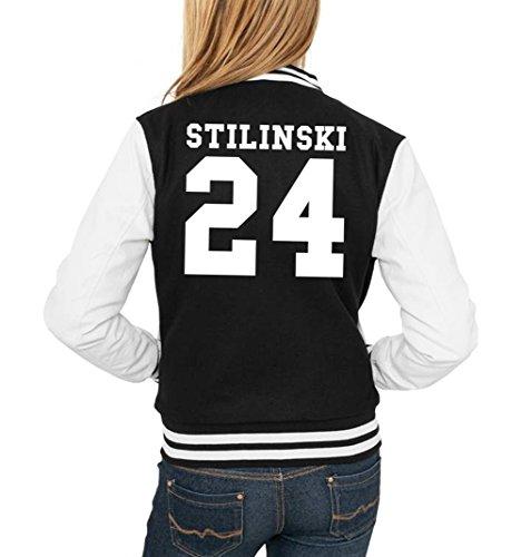 24 Freak Jacket Certified Noir Stilinski College Girls Eaq8gwB