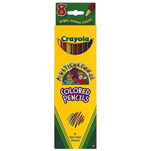 CRAYOLA LLC CRAYOLA MULTICULTURAL 8 CT COLORED (Set of 12) by Crayola (Image #1)