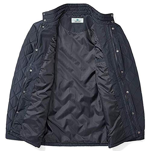 Somewhere Water-Resistant-Quilted-Barn-Jacket, Mens Big & Tall Jacket Lightweight Diamond Quilted Coat