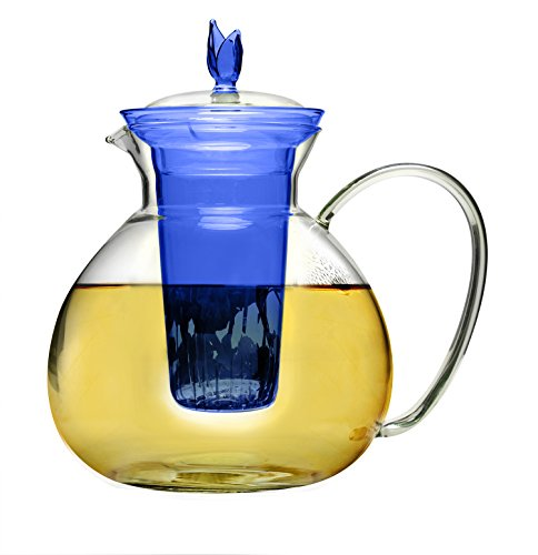 Primula Asha Glass Teapot 60oz Gift Set - Includes Infuser,