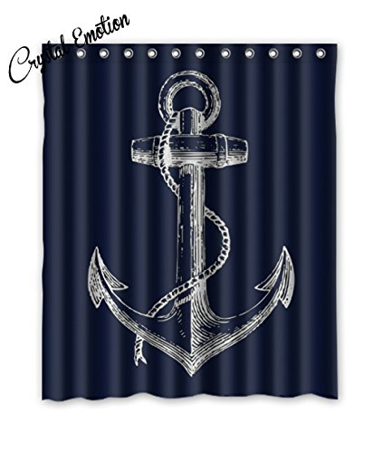 Navy Blue Anchor - 5