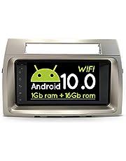 16 GB Android 10 2Din Car Multimedia GPS voor Toyota Corolla Verso 2006 Autoradio Navigatie Stereo Head Unit Tape Recorder Radio (1 GB RAM 16 GB ROM)
