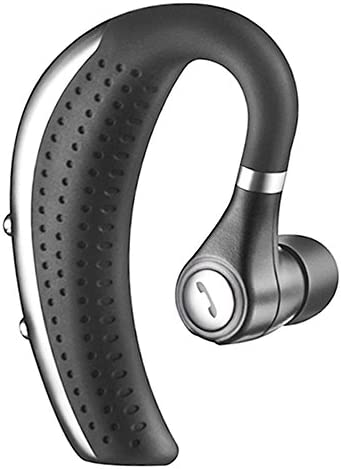 New Bluetooth Headset,Coolbit V4.0 Wireless Bluetooth Headphones Lightweight Ear Hanging Earphones with Noise Cancelling Mic Earbuds Hands Free Business Earpiece for Phones,Office,Skype,Driver Black
