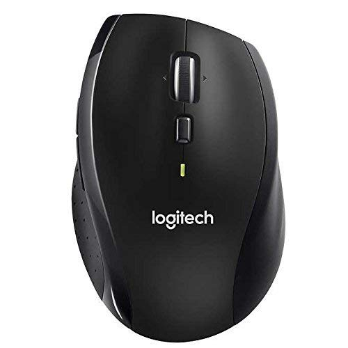 Logitech Wireless Performance Plus Mouse for PC and Mac, Large Mouse, Long Range Wireless Mouse (3 Button Mouse Logitech)