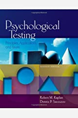Psychological Testing: Principles, Applications, and Issues (PSY 430 Intimate Relationships) Hardcover