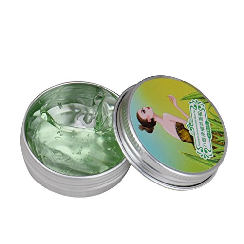 Jinjin AFY Natural Six Times Concentrated Aloe Vera Gel Whitening Facial Skin Care 30g (Green) by Jinjin (Image #3)