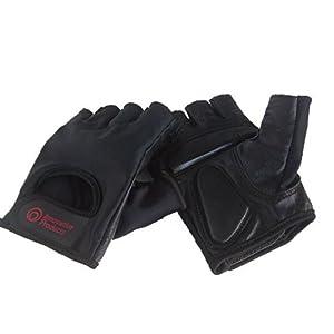 Cycling Biking Gloves for Road / Mountain Bike / Goatskin Leather Palms / Latest Bio Gel Padding / Egonomically Designed for Comfort Men's Large