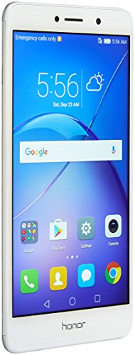 Huawei Honor 6X Dual Camera Unlocked Smartphone, 32GB Silver