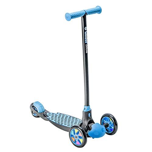 Yvolution Y Glider Deluxe | Three Wheel Scooter for Kids with Safety Brake for Children Ages 3+ Years ()