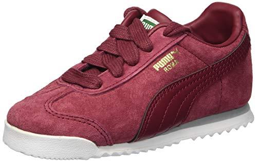 (PUMA Boys' Roma Gents Sneaker, Pomegranate, 6 M US Big Kid)