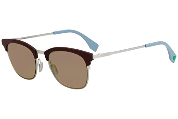 21170e6f09d5 Image Unavailable. Image not available for. Color  Fendi FF0228 S Sunglasses  Brown ...