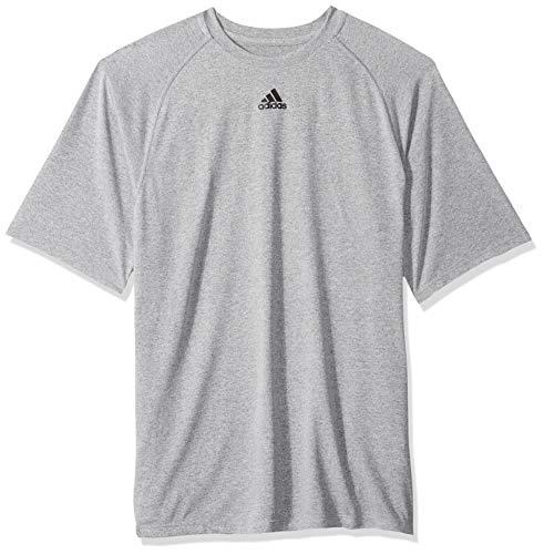 T Pour Gry Manches Courtes Homme À Adidas shirt Climalite F5nHCxqWwg