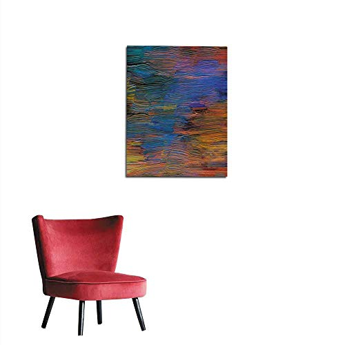longbuyer Photo Wall Paper Abstract Textured Acrylic Hand Painted Background Mural 32