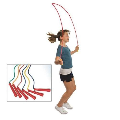 S&S WORLDWIDE W4998001 Spectrum Jump Ropes (Pack of 6)