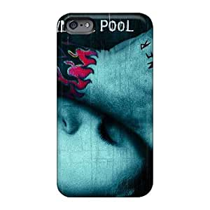High Quality Hard Phone Cases For Iphone 6 (Jju14645sPRm) Allow Personal Design High-definition Drowning Pool Band Image