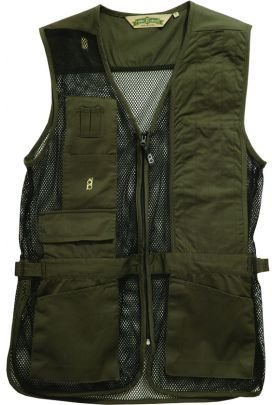 Bob-Allen Shooting Vest, Left Handed, Sage, Large