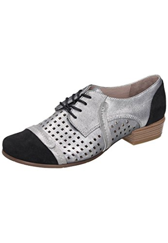 Piazza Lace Up silber schwarz 850381 92 silber womens H8A5qrnOH