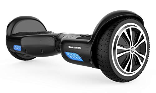 Swagtron Swagboard Twist T881 Lithium-Free and Ul2272 Certified Hoverboard, Black, One Size ()