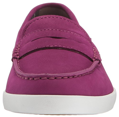 Cole Haan Womens Pizzico Weekender Penny Loafer Rosso / Cabernet