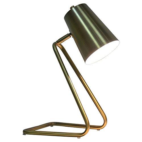 Brushed Gold Task Lamp - Nate Berkus
