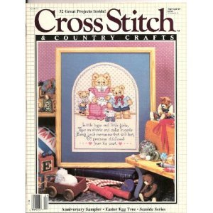 Cross Stitch & Country Crafts, March-April 1989