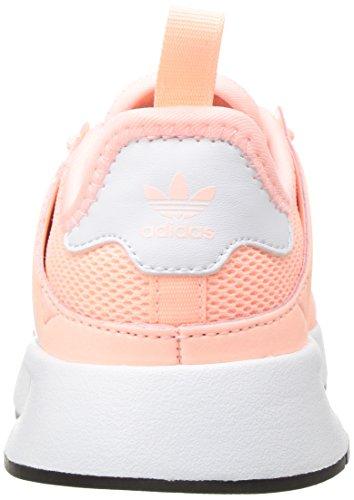 Little Us Adidas M plr Kid Originals Unisex Running 13k Clear X White Shoe Orange AA7UZq