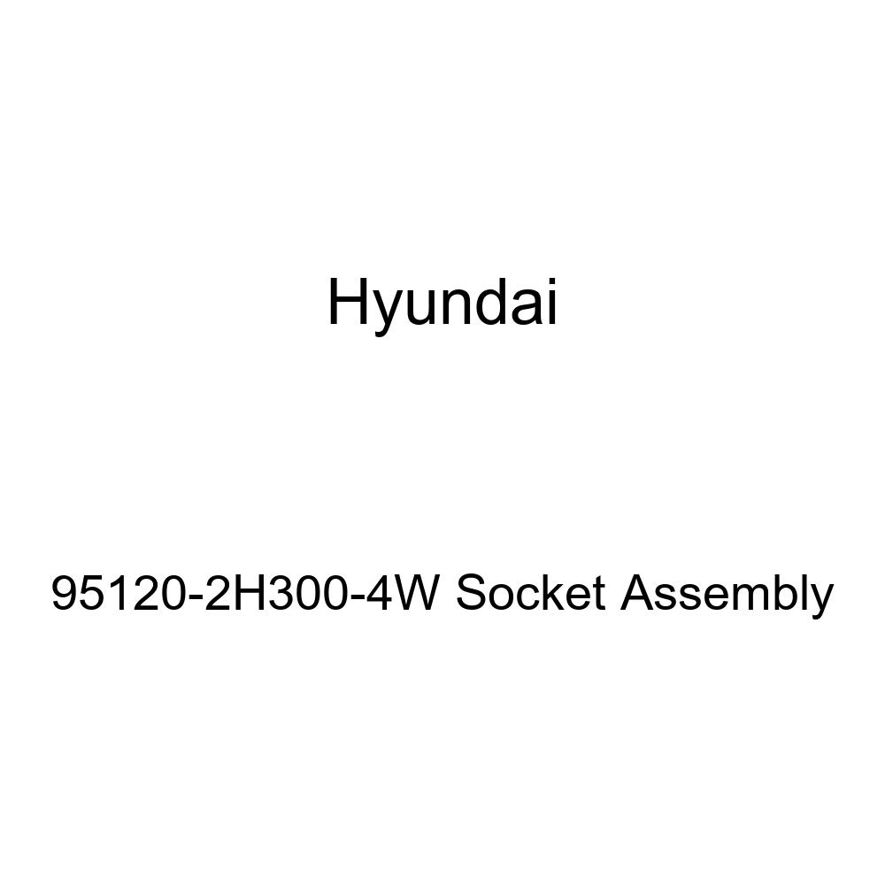 Genuine Hyundai 95120-2H300-4W Socket Assembly