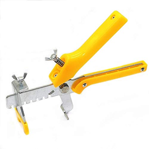 Electomania Tiling Installation Tool, Floor Plier Tile Locator Leveling System Wedges Ceramic Tiles Installation Hand Tool (Yellow) Price & Reviews