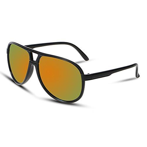 rojo como Hombres Calidad Se De Muestra De Oro Distinguidos Aviador Clásicas De Hombres Alta Gafas Gafas 1 De Solgafas Exterior De Gafas Limotai Sol Colorido Sol Sol BwOFxq