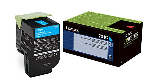 Lexmark 70C10C0 Cyan Return Program Toner