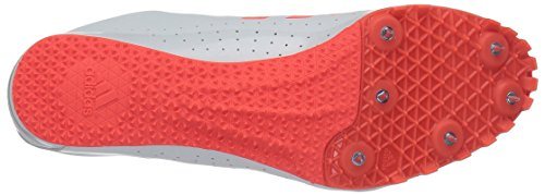 adidas Men's Sprintstar Track Shoe, Solar Red/White/Infrared, 7 M US by adidas (Image #3)