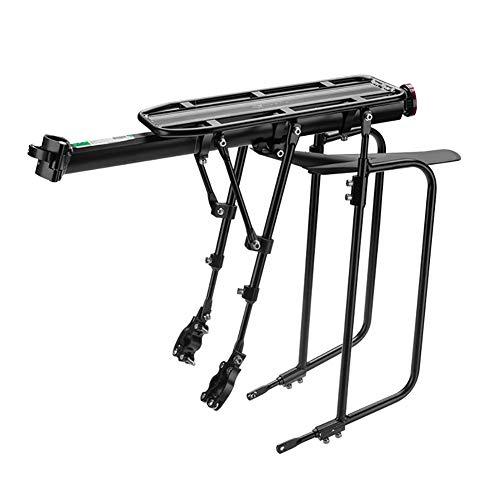 HECHEN Marco del Asiento Trasero de la Bicicleta - Persona cargable Que soporta más de 75 kg - portaequipajes para Bicicleta...