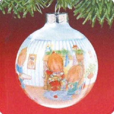 Betsey Clark Home for Christmas 3rd in Series 1988 Hallmark Ornament QX2714