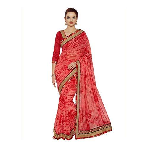 Self DesignSolidPrinted Sareeyellow Georgette Fashion Indianbeauty q54RjL3A