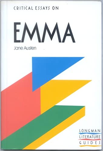 critical essay on emma by jane austen Emma, jane austen (critical essays) [linda cookson, bryan loughrey] on  amazoncom free shipping on qualifying offers this series aims to introduce .