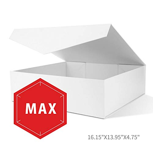 PACKHOME Extra Large Gift Boxes with Lids (16.15