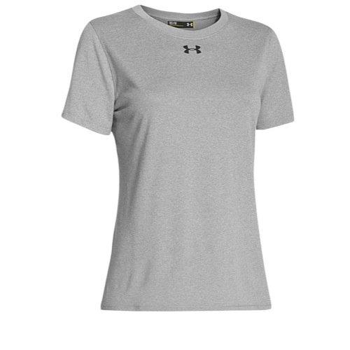 (Under Armour Women's UA Locker Tee Size XL True Gray Heather)