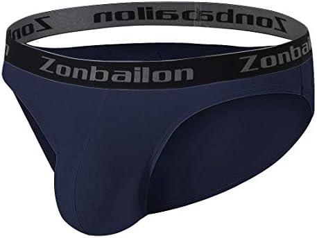 ZONBAILON Mens Thong Underwear Sexy Man GString ButtFlaunting Tongs Undie TBack Underwears