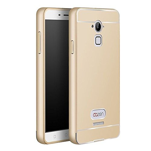 quality design 63b33 3664d Shopizone® Aliminum Metal Bumper CaseAcrylic Hard CoverFor Coolpad Note 3  Plus