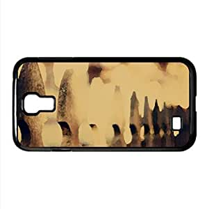 Fence Watercolor style Cover Samsung Galaxy S4 I9500 Case (Autumn Watercolor style Cover Samsung Galaxy S4 I9500 Case)