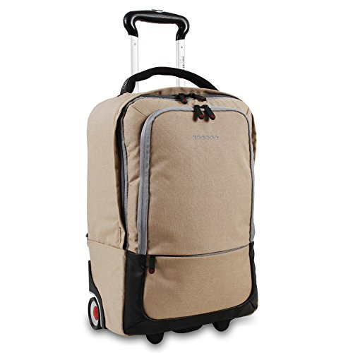 J World New York Sway Laptop Rolling Backpack, - New Rb York